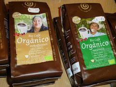 Café Organico, gemahlen / Café Organico,gemahlen und entkoffiniert