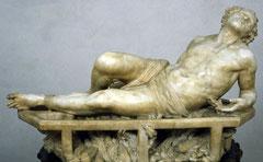 """""""Martyrium des Hl. Laurentius"""" von Gianlorenzo Bernini (1598-1680)"""