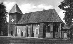 Kirche aus dem 12. Jhd. in Müden a. d. Örtze (Niedersachsen)
