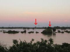 07. Juni 2013 - kurz vor dem Hochwasserscheitel