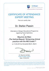 Allergan MD Codes, Mauricio de Maio