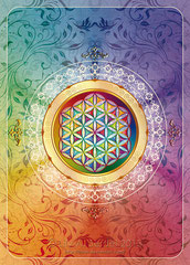 Flower of Life -light-