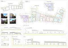 Riqualificazione urbana Acicatena - Tavola di concorso di progettazione