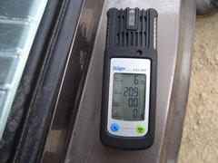 Detector gases Dräger X-am-2000