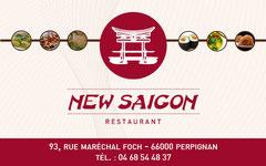 Carte de visite New Saïgon