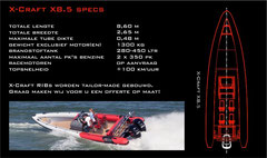 X-Craft X8.5 SPECS