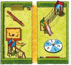 """""""Spielplatz"""" (Durchstarten VS, Mathematik 1, 2009) - Veritas Verlag, Linz"""