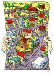 """""""Map"""" (Durchstarten Englisch 5, 2004) - Veritas Verlag, Linz"""
