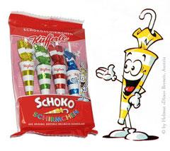 Schokoschirmchen (2000) - Lindt & Sprüngli, Wien