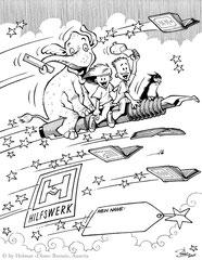 Hilfswerk-Schulsack (2001) - Agentur: Eigen)art
