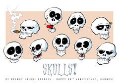"""""""Skulls!"""" (2012)"""