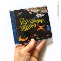 """""""the Lost Children of Planet X"""" CD Cover (2018) - Caldera Records Germany"""