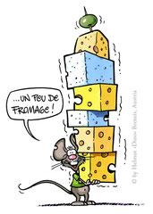 """Un peu de fromage!"" (Durchstarten Französisch 1, 2008) - Veritas Verlag, Linz"