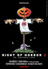"""Night of Horror 2"" Plakat (1999)"