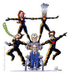 """""""X-Men 2"""" für die Zeitschrift PEN (2003)"""