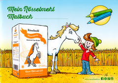Rösselmehl Malbuch (20-seitig) - Titelseite (2016)