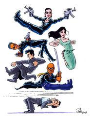 """""""Matrix 2"""" für die Zeitschrift PEN (2003)"""
