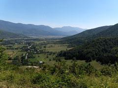 Auf der Fahrt Richtung Plitvicer Nationalpark
