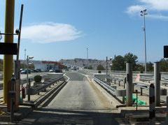 Zahlstation für die Brücke zur Insel Krk