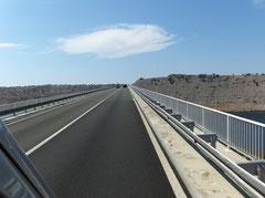 Die Brücke zur Insel Krk