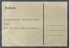 // Postkarte 7 / Rückseite //
