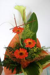Blumengruß zum Einstand