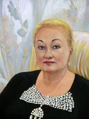 Портрет Людмилы Юрьевны,фрагмент.
