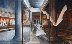 Home Of The Silver wedding - 163 x 100 cm - oil on canvas