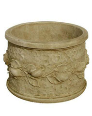 Vase rond citron V 100 H 30 / D 42