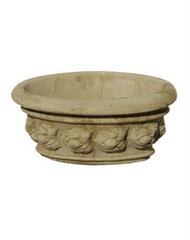 Vase ovale 10 fruits V3 H 17 / L 43 / l 30