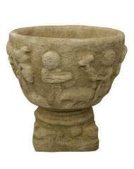 Vase Mamouth V 28 H 48 / D 48