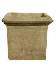 Vase carré lisse V 63 LISSE H 45 / L 50 / l 50