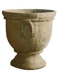 Vase corde à noeuds C01 H 55 / D 56