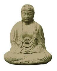 bouddha assis BD 02 H 30