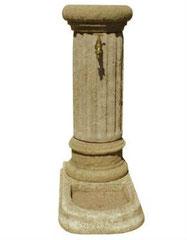 Fontaine colonne avec bac F 20 H 90 / D 34