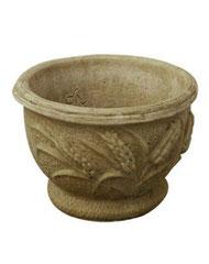 Vase rond épi fleurs V2 H 24 / D 32