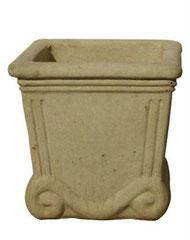 Vase roumain V99 H 39 / L 39 / l 39