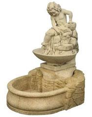 Fontaine bassin bambin sur roche F 213 H 120 / L 100