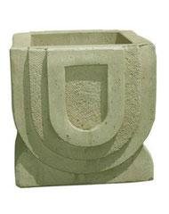 Vase carré pont V 300 H 41 / L 41 / l 41