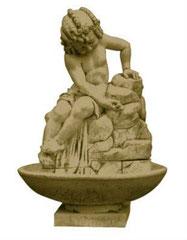 Fontaine Bambin sur roche S 215 H 85 / L 55