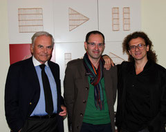 Bernard Magrez, Laurent Valera et Lorenzo Fiaschi (Galleria Continua)