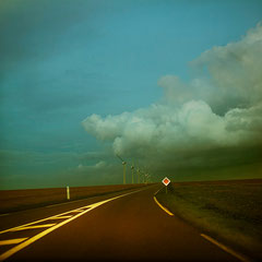 On the road again/ Photographie digital color, Cotentin