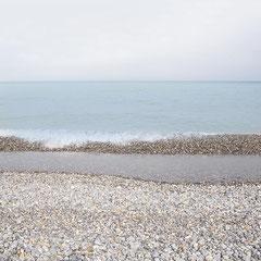Sur la grève Normandie/Digital color blue series ,edition limitée