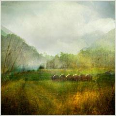 Un air de montagne/  Digital color Landscape Acceptée Salon Catalan