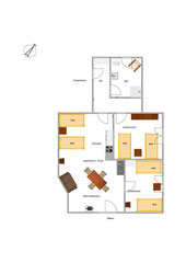 Grundriss Apartment 6