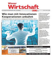 Link zum Artikel in der Wiener Wirtschaft vom 25.11.2016 über das Team ProGenerationen