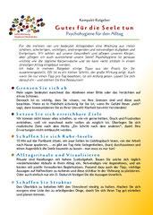 Link zum Ratgeber Psychohygiene