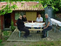 Martin Koller und 2 Zurzacher wurden von Bruno unterhalten