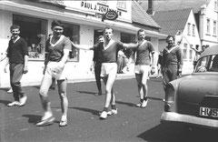 Umzug durch Bredstedt 1964