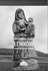 Kamienne znaki Łemków Kalendarz na 2018 rok